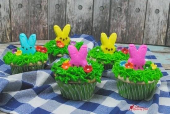 Peek a Boo Peeps Cupcakes