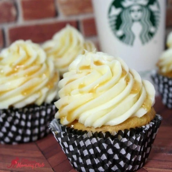 Salted Caramel Latte cupcake recipe