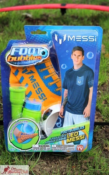 Ottawa Mommy Club Messi FootBubbles Starter Kit Photo 2