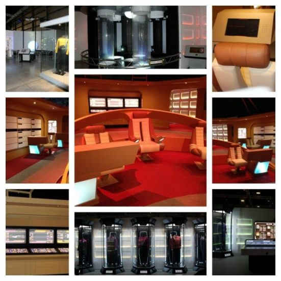 -STAR TREK The Starfleet Academy Experience Exhibit