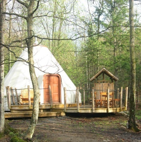 Glamping At Parc Omega Outaouaisfun Ottawa Mommy Club