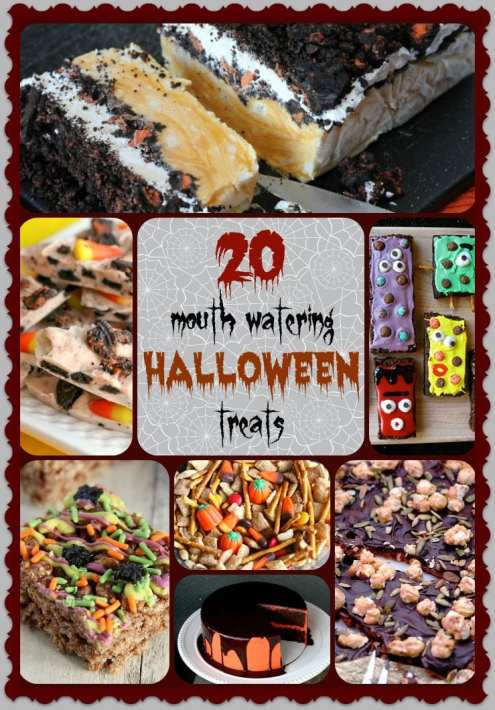 20 Mouthwathering Halloween Treats