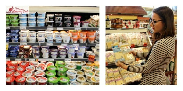 Ottawa Mommy Club Loblaw Dietician Healthier Cheese Collage Photo