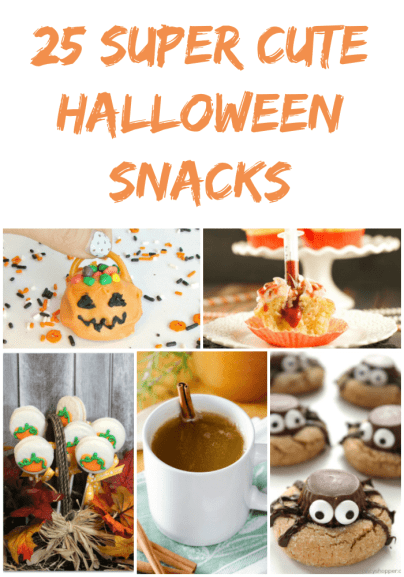 25 Super Cute Halloween Snacks