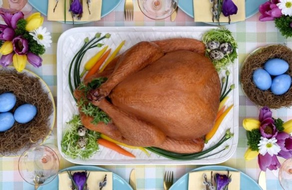 Crispy Roast Turkey Recipe