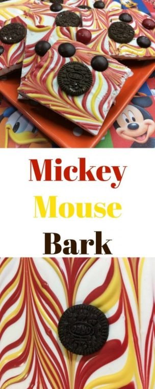 Mickey Mouse Bark Recipe