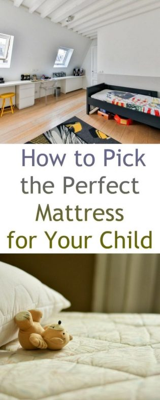 How to Pick the Perfect Mattress for Your Child
