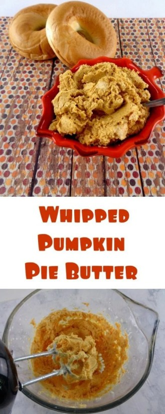 Whipped Pumpkin Pie Butter