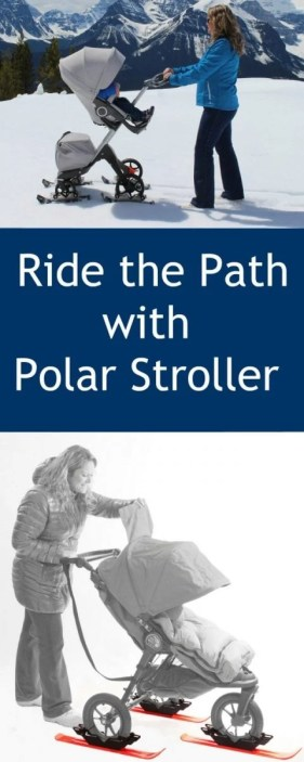 Ride the Path with Polar Stroller Skis
