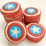 Avengers Captain America Oreo Cookies Recipe #DisneySMMC