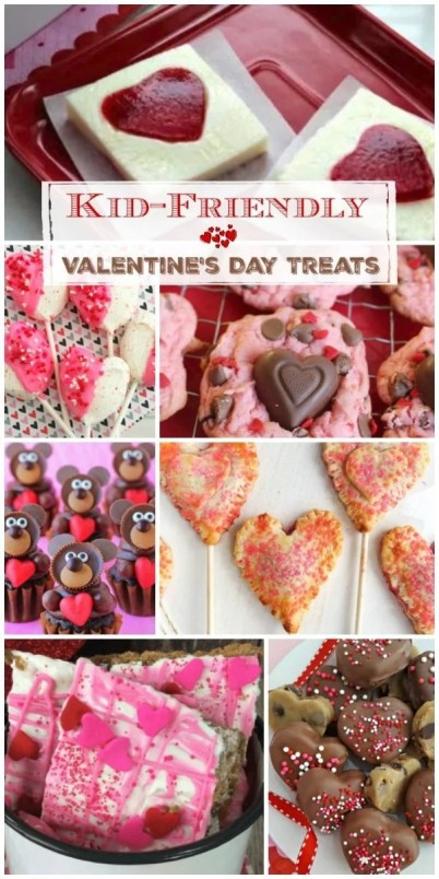 Kid Friendly Valentines Day Treats