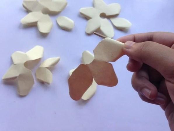 Paper Rose Craft Tutorial
