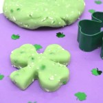 Edible St. Patrick's Day Jello Playdough Recipe