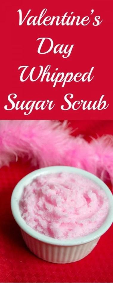 Valentine's Day Whipped Sugar Scrub