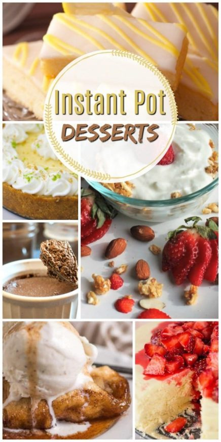 11 Super Easy Instant Pot Desserts