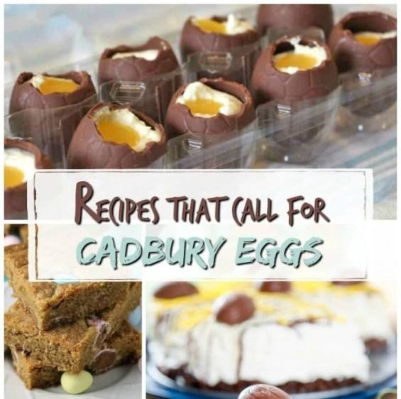 Recipes That Call for Cadbury Eggs