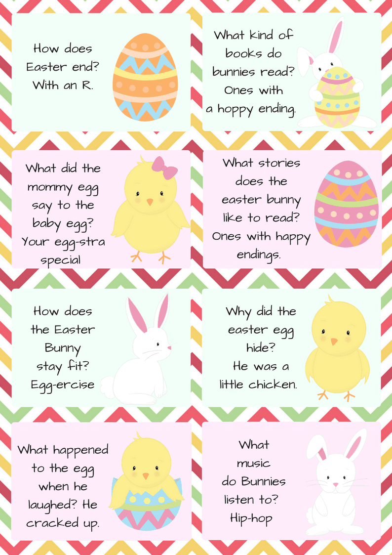 photograph relating to Printable Jokes for Kids referred to as Easter Lunchbox Jokes For Small children - Ottawa Mommy Club : Ottawa