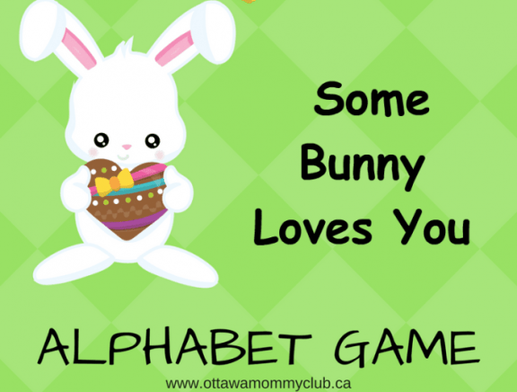 Some Bunny Loves You Alphabet game