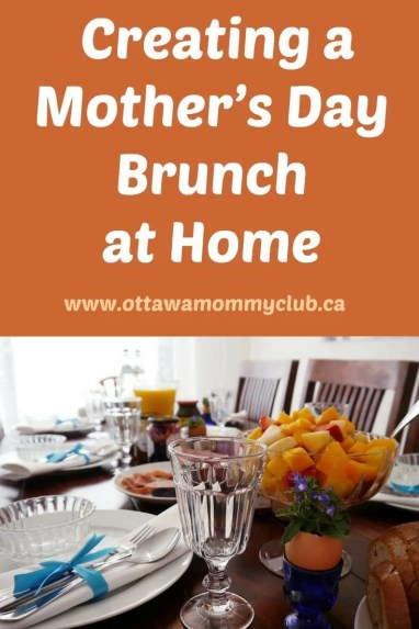 Creating a Mother's Day Brunch at Home