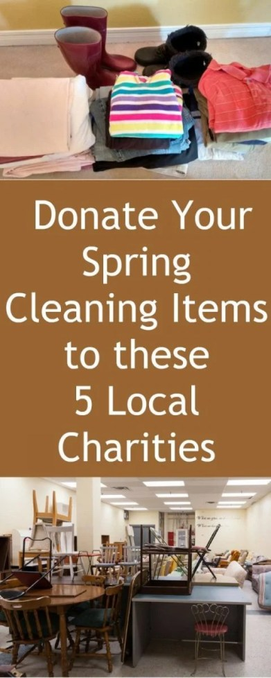 Donate Your Spring Cleaning Items to these 5 Local Charities