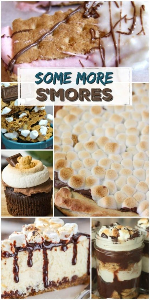 Some More S'Mores Recipes