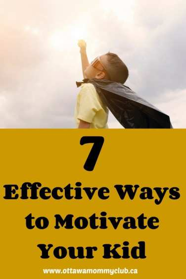 7 Effective Ways to Motivate your Kid
