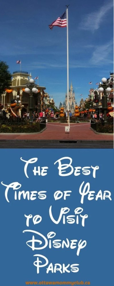 The Best Times of Year to Visit Disney Parks