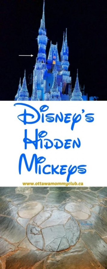 Disney World Hidden Mickeys and Printable Mickey Mouse Cards