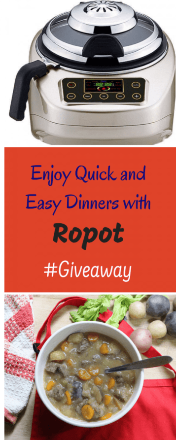 Enjoy Quick and Easy Dinners with Ropot