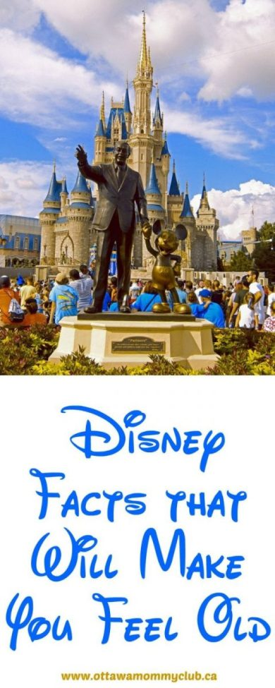 Disney Facts that Will Make You Feel Old