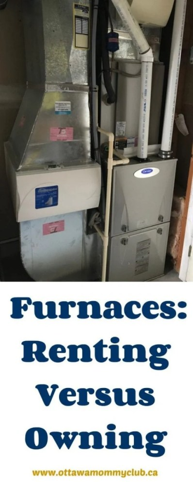 Furnaces: Renting Versus Owning