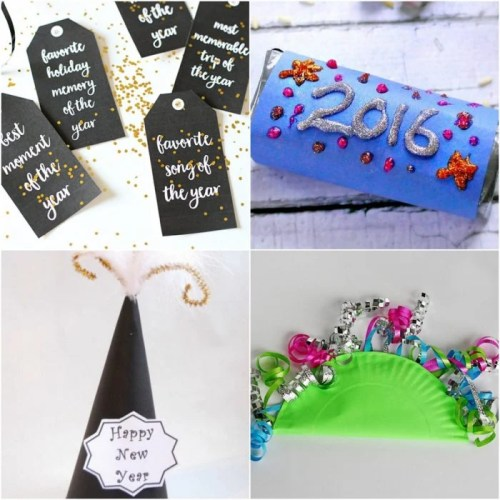 17 New Years Eve Crafts For Kids