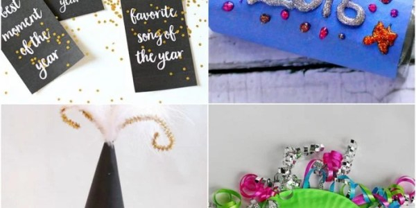 17 New Year's Eve Crafts For Kids
