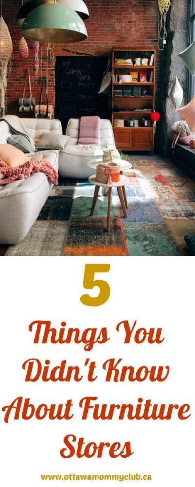 5 Things You Didn't Know About Furniture Stores