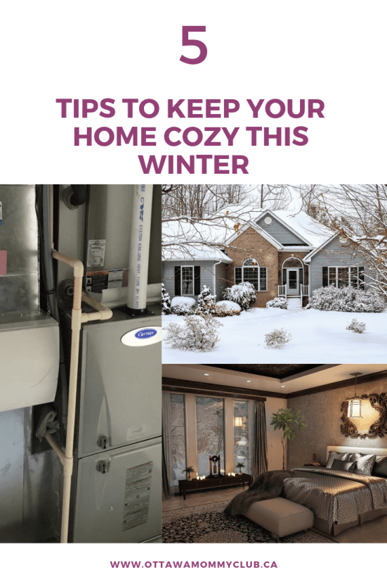 5 Tips to Keep Your Home Cozy This Winter