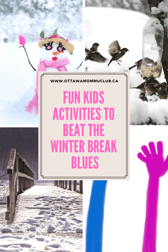 Fun Kids Activities to Beat the Winter Break Blues