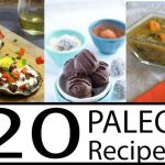 Over 20 Paleo Recipes