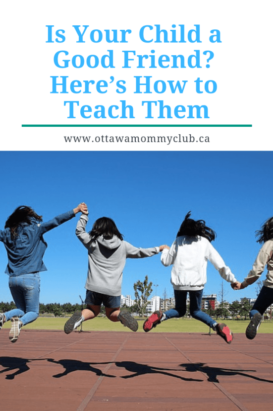 Is Your Child a Good Friend? Here's How to Teach Them