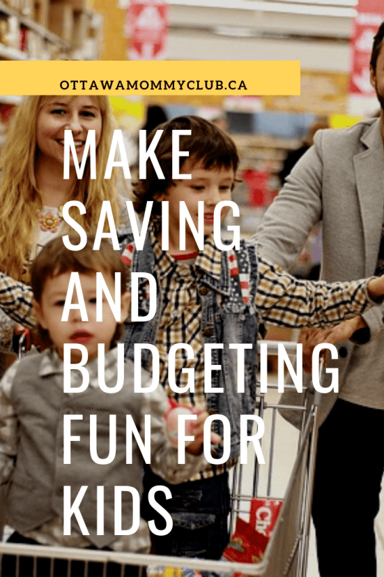 Make Saving and Budgeting Fun for Kids