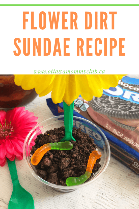 Flower Dirt Sundae Recipe