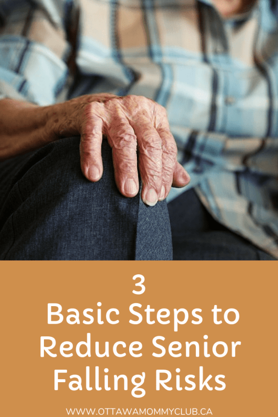 3 Basic Steps to Reduce Senior Falling Risks