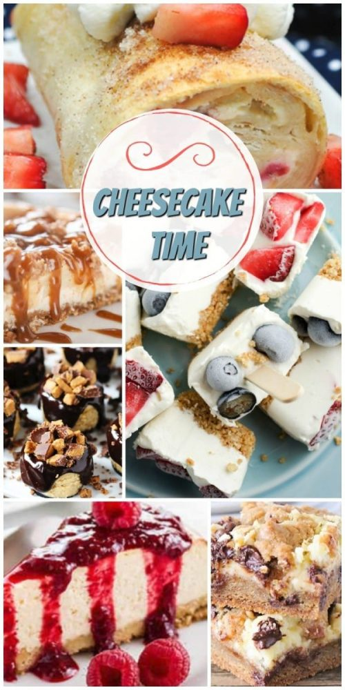 Cheesecake Time for National Cheesecake Day