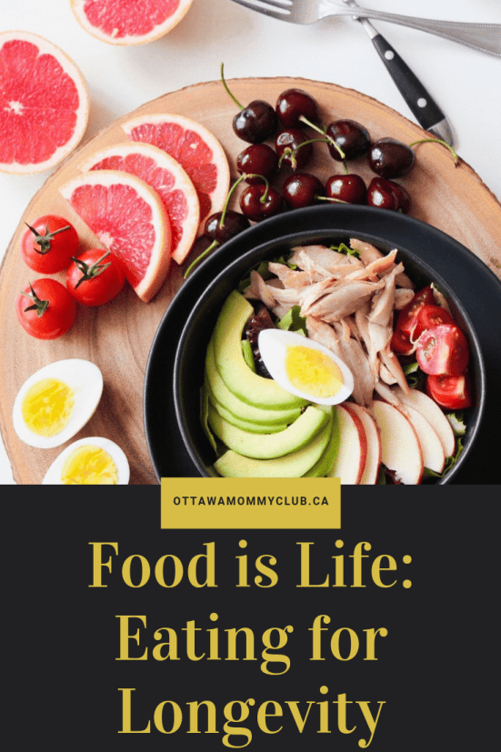 Food is Life: Eating for Longevity