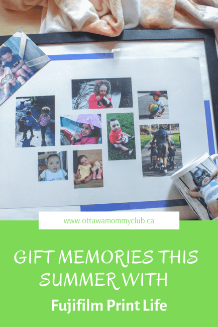 Gift Memories This Summer with Fujifilm Print Life