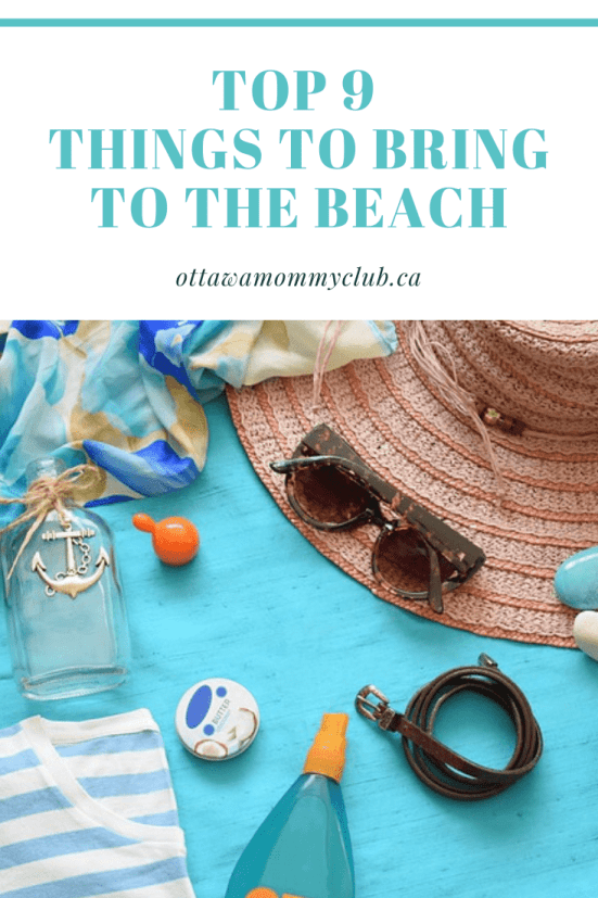 Top 9 Things to Bring to the Beach