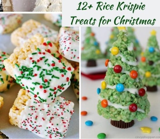 12 Rice Krispie Treats for the Holidays