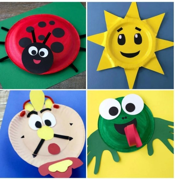 21 Paper Plate Crafts For Kids