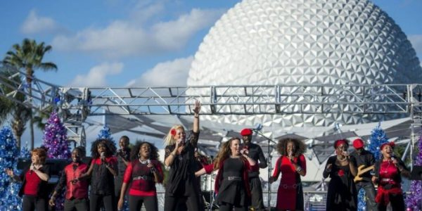 Festival of the Holidays At Epcot in Walt Disney World