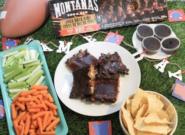 Set a Saucy Game Day Table with Montana's Ribs