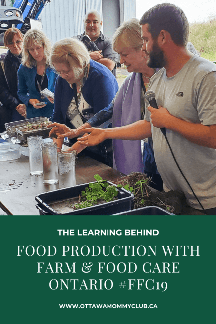 The Learning Behind Food Production with Farm & Food Care Ontario